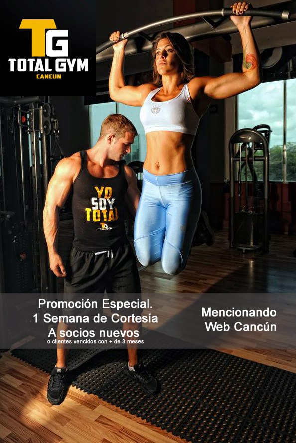 Gimnasio total gym canc n directorio de cancun for Mueblerias en cancun